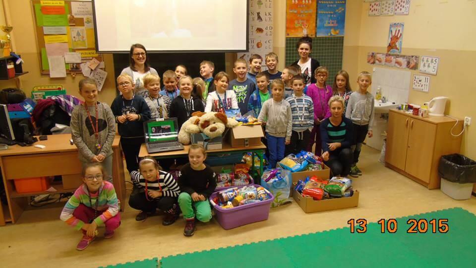 13-10-2015 - Odwiedziny w Szkole Podstawowej nr 1 w Luboniu (3)