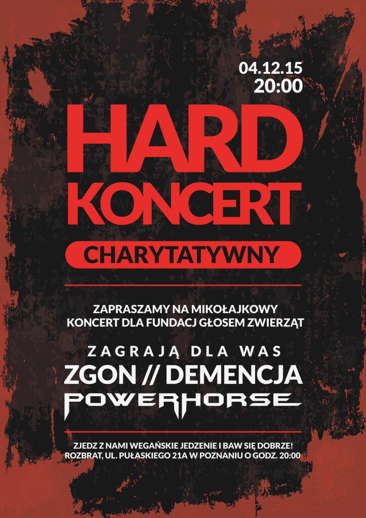 Mikołajkowy koncert charytatywny na rzecz bezdomnych zwierząt!