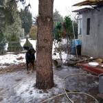 11.01.2016r. - Interwencja na ogródkach działkowych