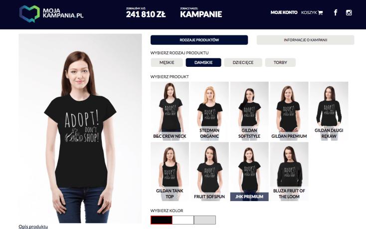 Ostatni dzień kampanii koszulkowej! Dołącz!