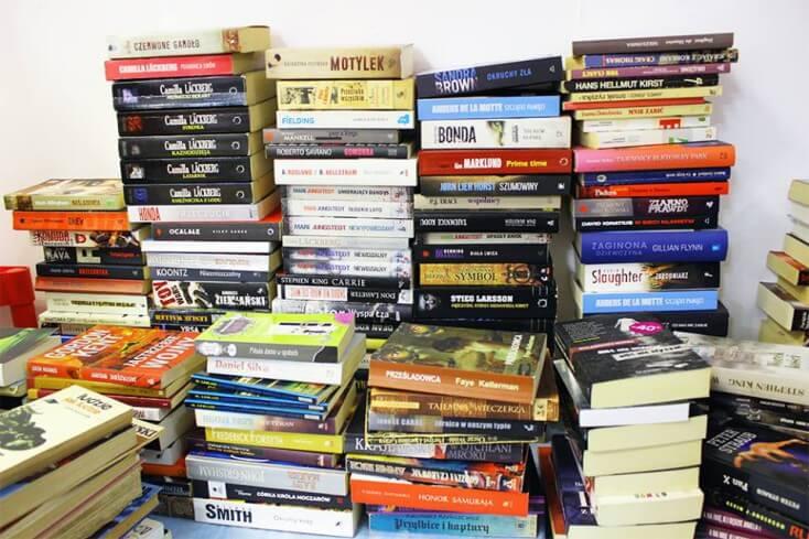 Pierwszy dzień kiermaszu książek za nami!