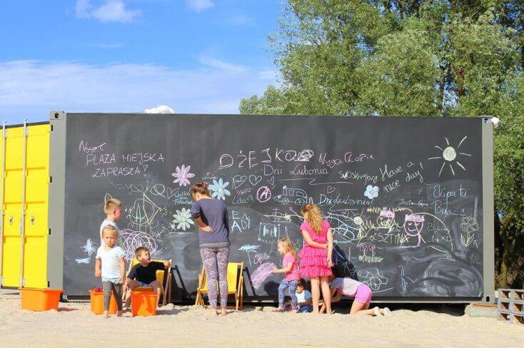 Otwarcie plaży miejskiej w Luboniu - bądźcie z nami!
