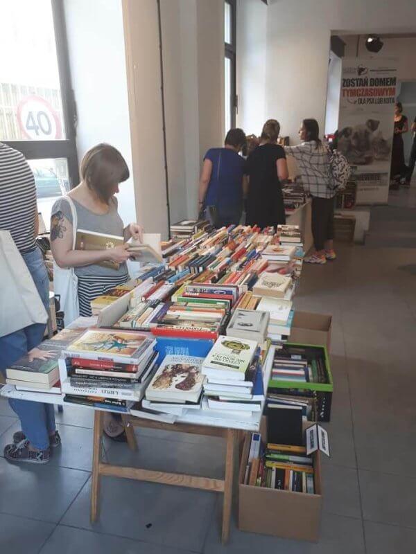 Kiermasz książek - dzieje się!